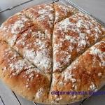 Chleb z mąką...