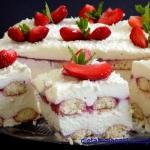 Ciasto truskawkowa...