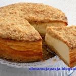 Sernik sypany - pieczony