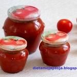 Przecier pomidorowy...