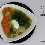 Zupa z brokulow, z warzyw...