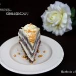 Tort makowy z masa serowo...