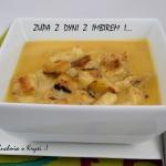 Zupa krem z dyni z imbire...