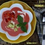 Zupa pomidorowa na zimno ...