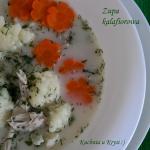 Zupa kalafiorowa... po...