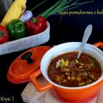 Zupa pomidorowa z kukuryd...
