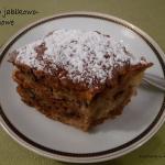 Ciasto jablkowo-orzechowe...
