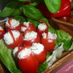 Pomidorki faszerowane ser...