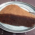 Miekkie ciasto czekoladow...