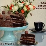 Tort oblednie czekoladowy...