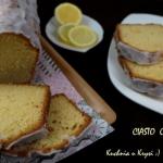 Cytrynowe ciasto......