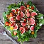 Lekka salatka z figami