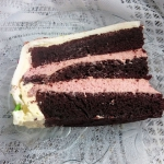 Tort czekoladowo truskawk...