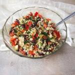 Kolorowa salatka z tunczy...