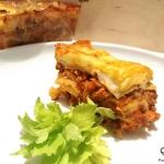 Prawdziwa lasagna z sosem...