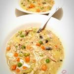 Kremowa zupa warzywna z k...
