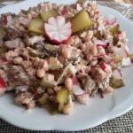 Salatka z tunczyka