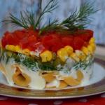 Sałatka z tortellini