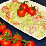 Salatka z pora i pieczare...