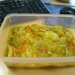 Cukiniowe curry z kwiatam...