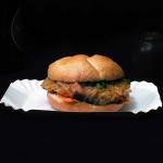 Ramen burger i trendy...
