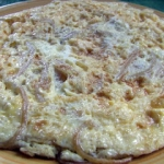 Omlet z makaronem
