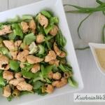 Zielona salatka zkurcza...