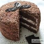 Tort mocno czekoladowy z�...