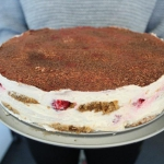 Tort Tiramisu zmalinami
