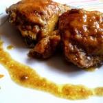 Kurczak w śliwkowym...