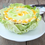 Torcik salatkowy