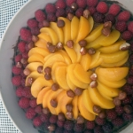 Tarta z owocami i musem c...
