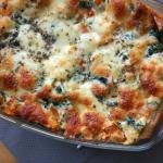 Lasagne z dynią i serem...