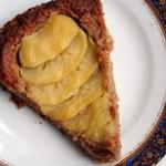 Migdalowa tarta z gruszka...