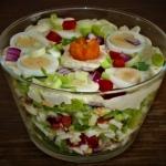 Salatka jajeczno czosnkow...