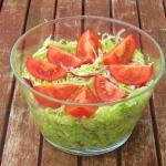 Salata lodowa z ... w 3 m...