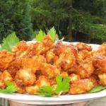 Kawałki kurczaka