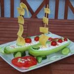 ogorki faszerowane :)