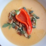 Zimowa zupa krem z dyni,...