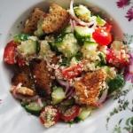 Lekka salatka z komosa