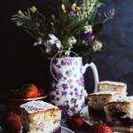Cytrynowe ciasto z owocam...