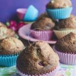 Puszyste muffiny orzechow...