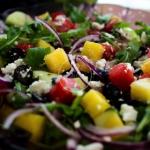 Lekka salatka z arbuzem