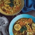 Zupa kukurydziana z chori...