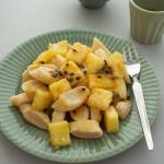 Leniwe mocno ananasowe