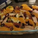 Salata z cytrynowym kurcz...