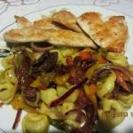 Salatka z ravioli (lub to...