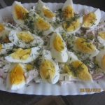 Salatka z szynka i ziemni...