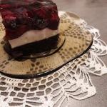 Ciasto z panna-cottą i...