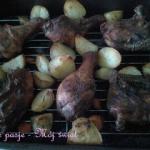 Pieczone palki z kurczaka...